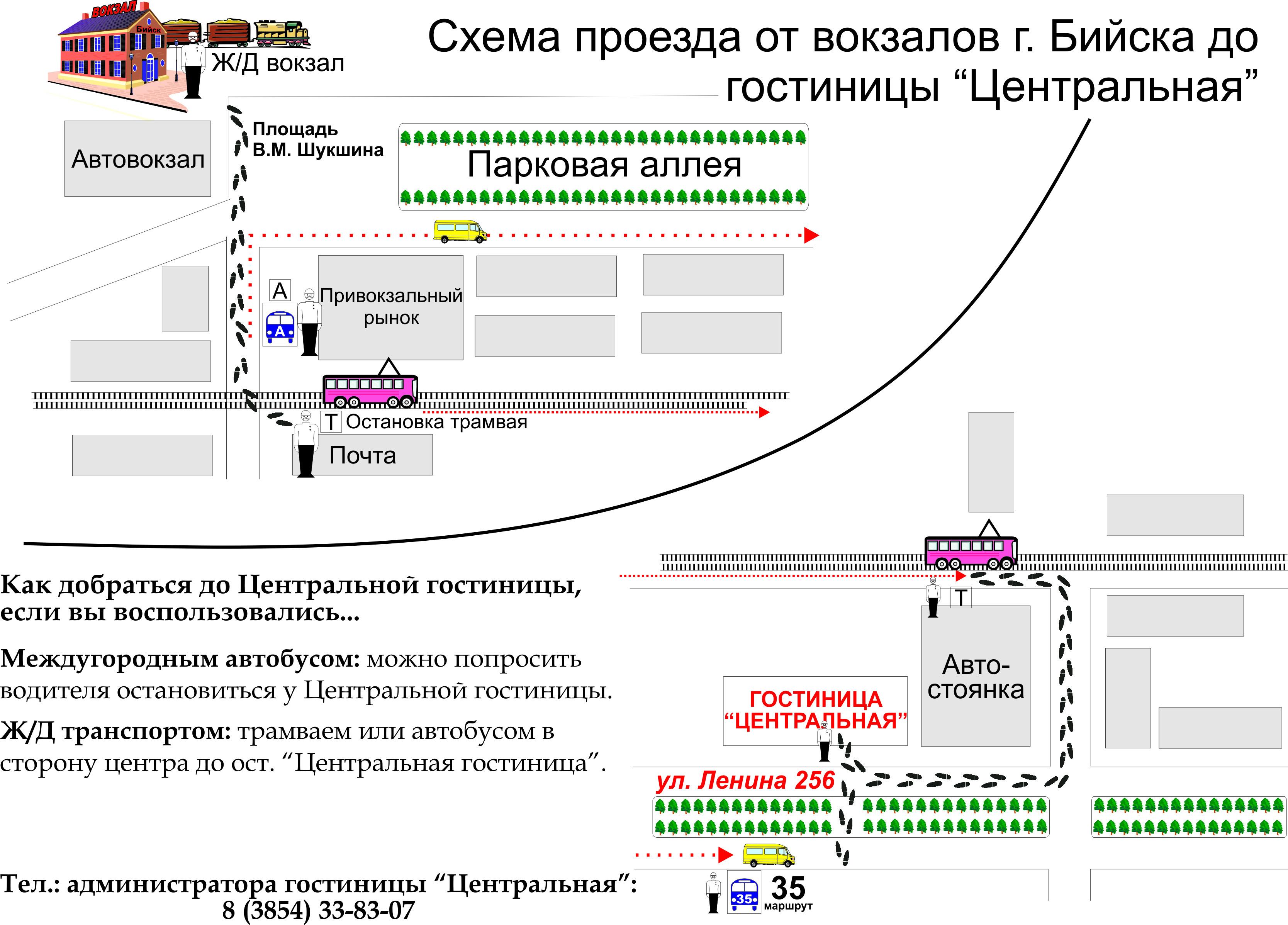 Схема ж.д. вокзала минска